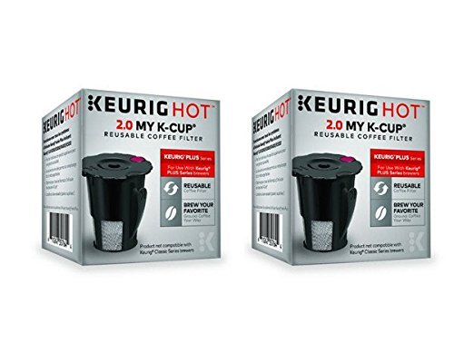 Keurig 119367 2.0 My K-Cup Reusable Coffee Filter (Updated Model) (2 PACK) (Coffee K Cups Reusable compare prices)