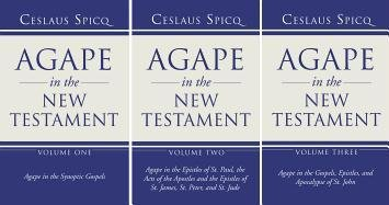 Read Online Agape in the New Testament, 3 Volumes PDF