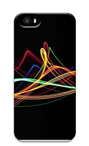 iPhone 5 5S Case Colored Stripes 3D Custom iPhone 5 5S Case Cover