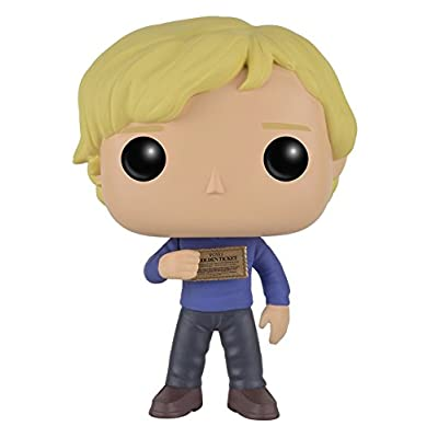 Funko POP Movies: Willy Wonka Charlie Bucket Action Figure: Artist Not Provided: Toys & Games