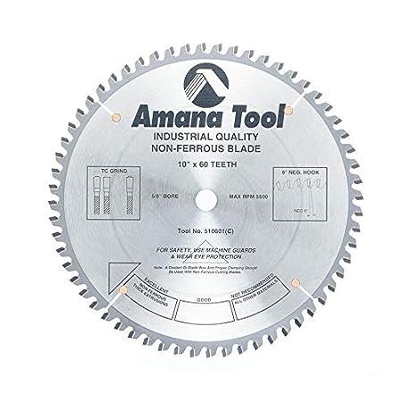 Amana Tool 510601-30 Carbide Tipped Aluminum and Non-Ferrous Metals