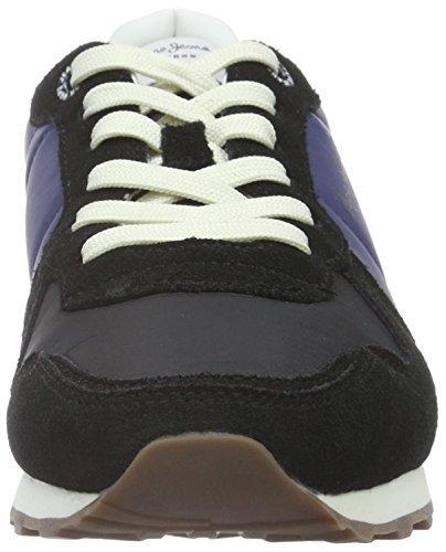 Verona Basses Baskets Black Triple Femme 999 Jeans Noir Pepe W 45wqxU1X