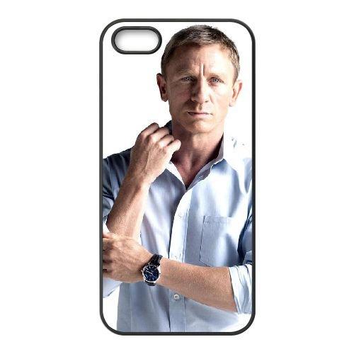 007 James Bond 028 coque iPhone 5 5S cellulaire cas coque de téléphone cas téléphone cellulaire noir couvercle EOKXLLNCD20976