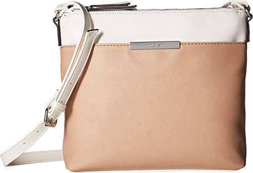 Nine West Womens Moment Crossbody Barely Nude Multi One Size