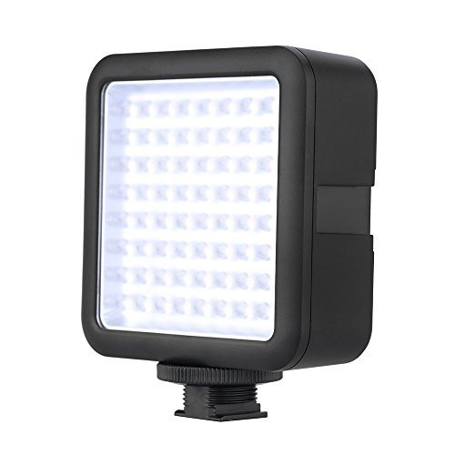 Godox LED64 Video Light 64 LED Lights for DSLR Camera Camcorder Mini DVR as Fill Light for Wedding News Interview Macrophotography