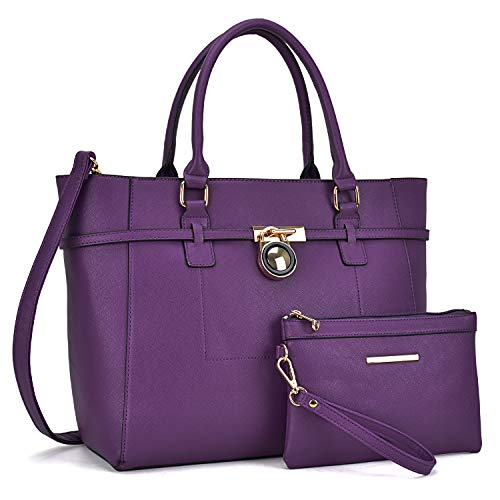 Purple Hobo Handbag - 4
