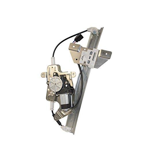 Left Rear Door Window Regulator W/ Motor Oldsmobile Pontiac Premium HD 22683777 Grand Am Alero