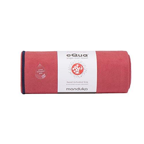 Manduka eQua Yoga Mat Towel, Maka, 72