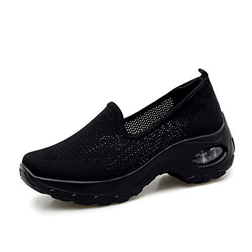 GZTEESER Womens Slip on Sneaker Comfortable Walking Shoe