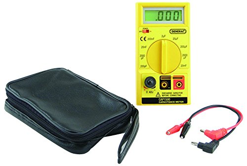 General Tools CAP1500 Automatic Digital Wide Range Capacitor Tester