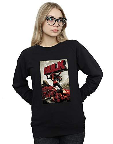 Universe De Red Cover Hulk Marvel Negro Entrenamiento Mujer Camisa TqqH4