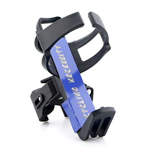 Portable Water Bottle Holder Bicycle Water Bottle Mount Cage with 360 Degree Rotation Rack rotary Clips