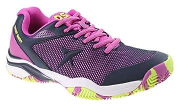 DROP SHOT Zapatos de pádel Mujer Dulce Viola Lady: Amazon.es: Deportes y aire libre