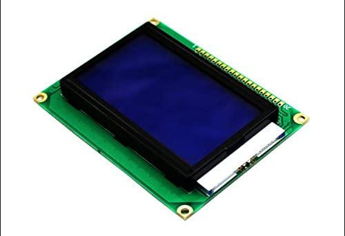 5pcs Blue lcd screen module lcd display board with Chinese characters ST7920 LCD12864