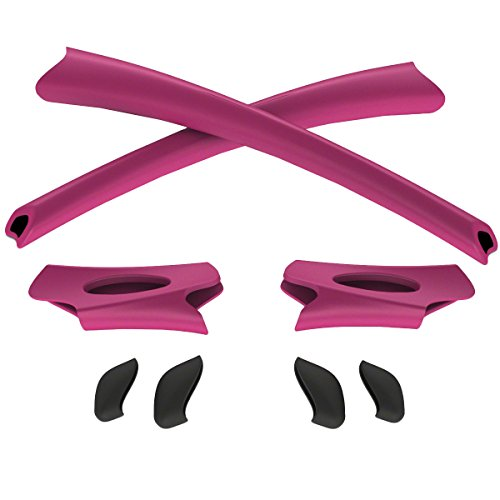 Oakley Flak Jacket Sock Kit Sunglass Accessories - Hot Pink/One (Jacket Frame Accessory Kits)