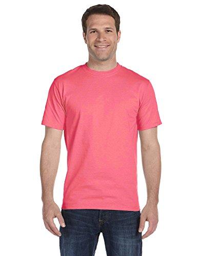 shirt Coral Adulte ¨¤ Beefy 3xl Courtes Manches charisma T Pour t By S6qOx