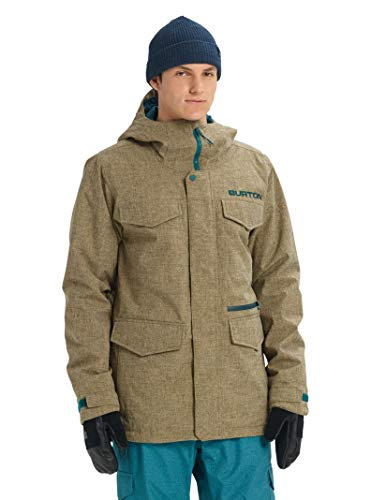 Burton Men's Covert Jacket, Kelp Heather, XX-Small