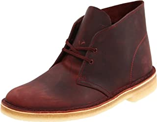 Clarks Men's Desert Chukka Boot,Red Oak Leather,9 M US (B004Q96P1E) | Amazon price tracker / tracking, Amazon price history charts, Amazon price watches, Amazon price drop alerts