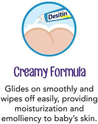 41R%2BO2UtkmL. AC - Desitin Daily Defense Baby Diaper Rash Cream With Zinc Oxide To Treat, Relieve & Prevent Diaper Rash, Hypoallergenic, Dye-, Phthalate- & Paraben-Free, 4.8 Oz
