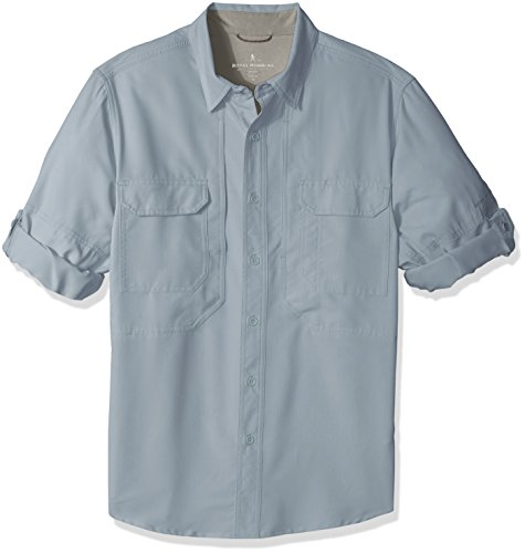 (Royal Robbins Men's Expedition Chill Long Sleeve Shirt, Tradewinds, X-Large)