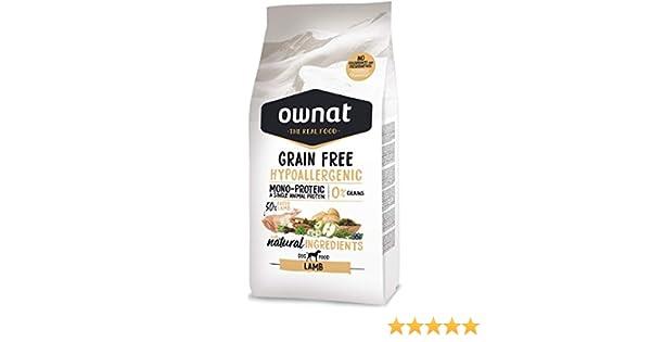 Ownat Dog Grain Free Hypoallergenic Lamb 14000 g: Amazon.es: Productos para mascotas