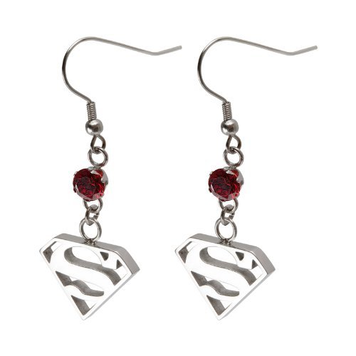 DC Comics Superman Stainless Steel Earrings