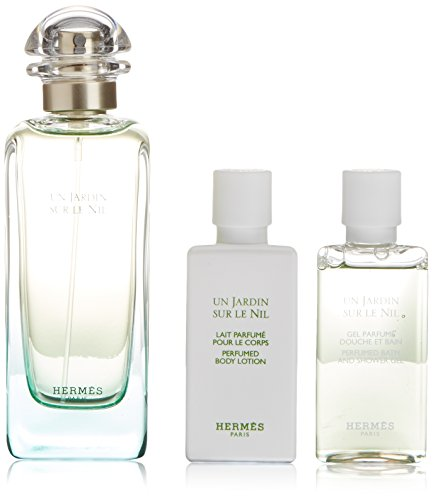 Hermes Un Jardin Sur Le Nil Fragrance Set, 3 Count by Hermes