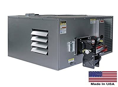 Waste Oil Heater Commercial - Ductable - 200,000 Btu - 5,000 Sq Ft - 1,550 Cfm