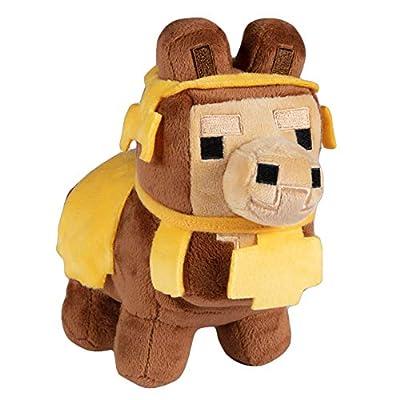 JINX Minecraft Happy Explorer Baby Llama Plush Stuffed Toy (Brown, N/A)