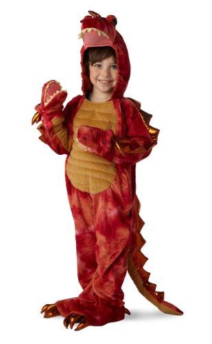 [Hydra the Three-Headed Dragon Child Costume - X-Small (4)] (Dragon Girl Costume)