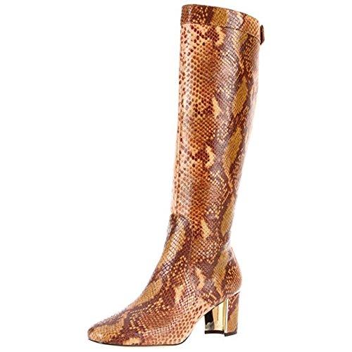 (Pour La Victoire Women's Gabor Knee-High Boot, Tan Python, 6 M US)