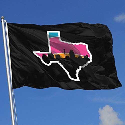 San Antonio Skyline Flag 3x5-Flags 90x150CM-Banner 3'x5' FT