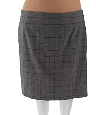 Liz Claiborne NY Heritage Collection Plaid Skirt A267301