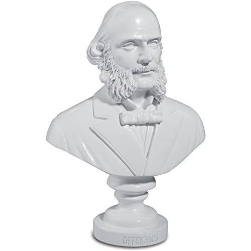 Buste d'Offenbach - 12,5 cm
