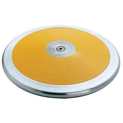35c7460dca6ae Amazon.com : Nelco 2K Premier II Gold Lo-Spin Discus : Sports & Outdoors
