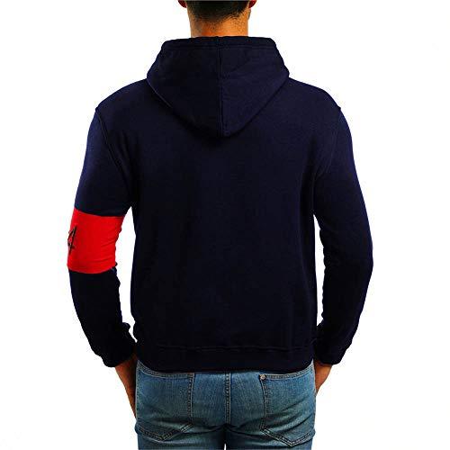 Blouse Manteau Marine Hoodies Clearance Tracksuit shirt Pour Décontracté Sweat Chemisier Pullover Longues Tops Manches Sweat Jerfer À Homme ZBvTPqHwWW
