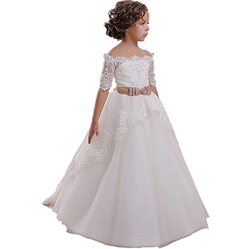 Kalos Dress Shop Lace Flower Girls Dresses Girls