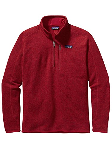 er Sweater 1/4 Zip Classic Red LG (Patagonia Red Shirt)