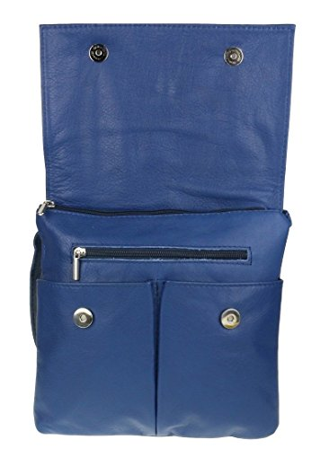 Mujer Cruzados Craze Bolso Azul London Real Para M wZIBAxIq