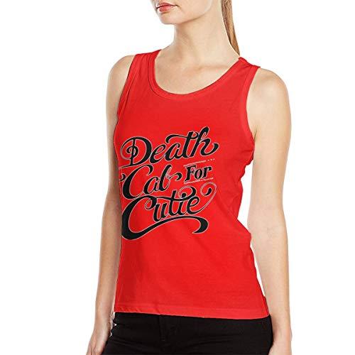 Death Cab for Cutie Logo Women's Music Band Fashion Muscle BodybuildingTank Top Shirt Sleeveless Shirt Red S