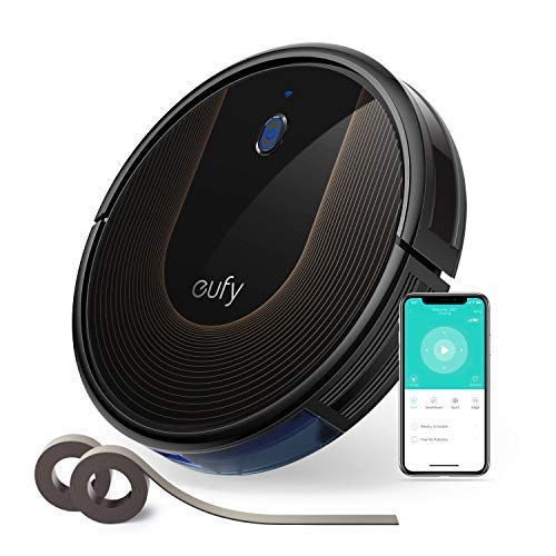 eufy BoostIQ RoboVac 30C, Wi-Fi, Upgraded, Super-Thin, 1500Pa Strong Suction, 13 ft Boundary Strips Included, Quiet, Self-Charging Robotic Vacuum Cleaner, Cleans Hard Floors to Medium-Pile by eufy