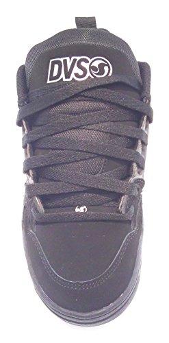 DVS Comanche black grey black nubuck nero grigio (39)