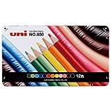 【ひらがな / カタカナ名入れ】三菱鉛筆 色鉛筆880 12色 K88012CP02