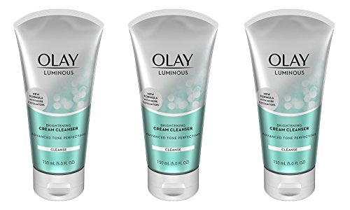 Olay Luminous Brightening Cream Face Cleanser, 5.0 Fluid Ounce (Pack of - Cleanser Olay Hydrating