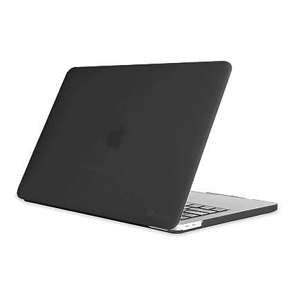 Fintie Funda para MacBook Pro 13 2018/2017 / 2016 - Súper Delgada Carcasa Recubierto de Goma Protector de Plástico Duro para Modelo A1989 / A1706 / ...