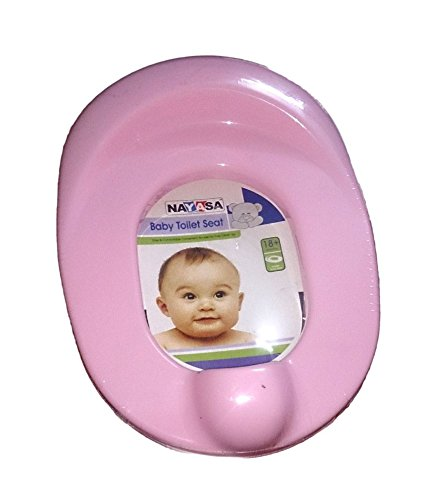 Nayasa Plastic Baby Potty Training Seat  Blue and Pink