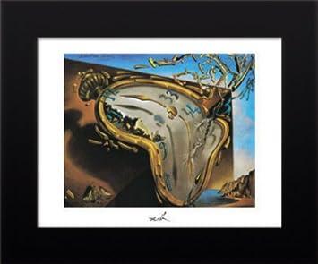11 x 14 con marco Salvador Dalí reloj de explosión Póster: Amazon.es: Hogar