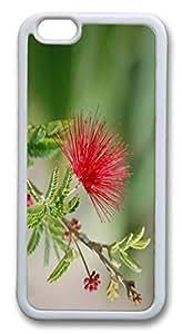 iphone 6 plus 5.5inch Case Spiky Flower Closeup TPU Custom iphone 6 plus 5.5inch Case Cover Whtie