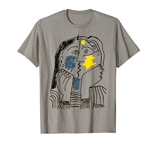 Kiss 1979 T Shirt, Pablo Picasso Artwork Reproduction (Pablo Picasso Best Artwork)