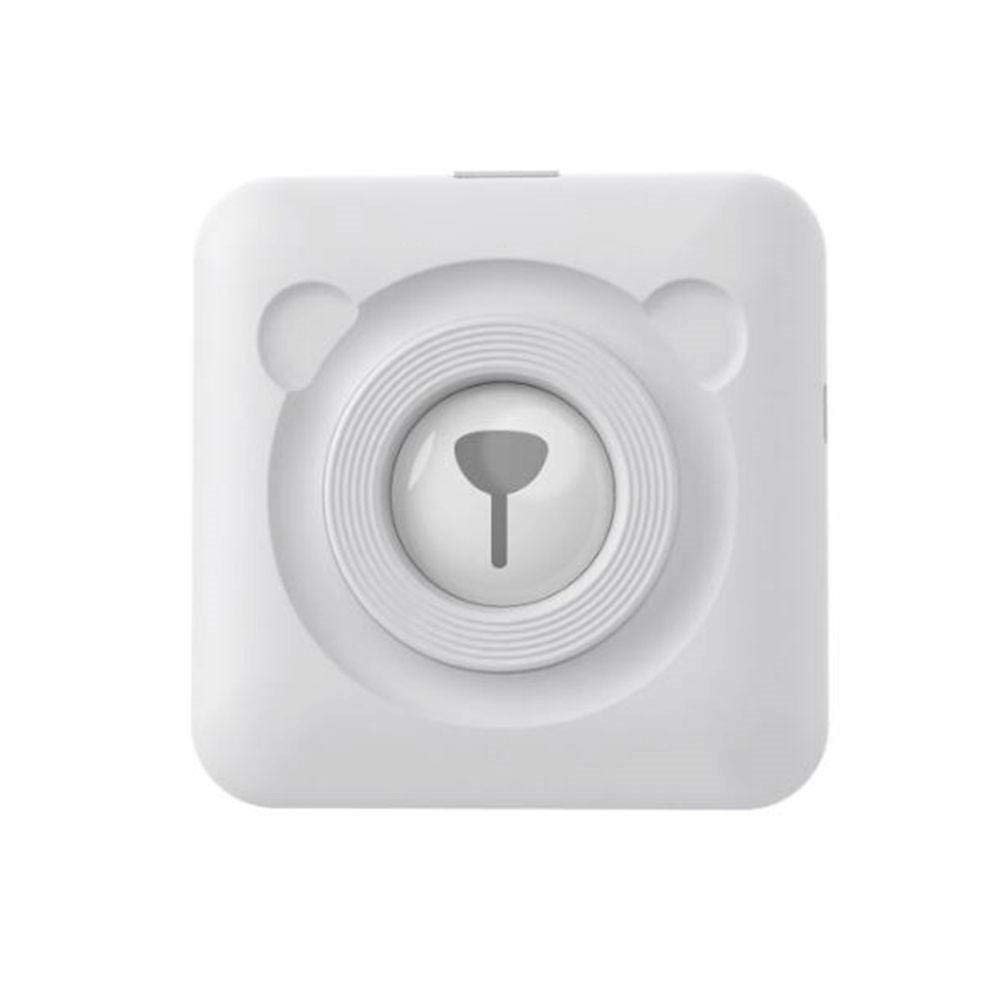 Calistouk Impresora térmica inalámbrica pequeña Bluetooth Impresora fotográfica móvil para teléfonos Android iOS